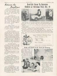 argus eyes november 1953 ann arbor district library