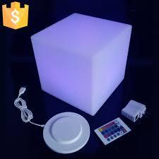 led cubes 20cm diameter led cube stool bar stools light up cube garden