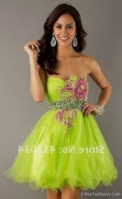 lime green party dresses 2016 2017 b2b fashion