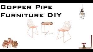 50 copper pipe furniture diy design ideas for home decor startup