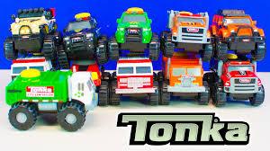 tonka climb overs tonka trucks for boys unboxing kinder
