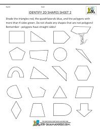 4th Grade Math Geometry Worksheets Second Grade Geometry