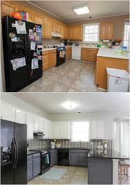 repeindre sa cuisine en blanc repeindre sa cuisine avant apres