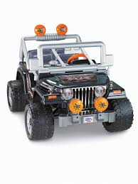 power wheels jeep barbie fisher price power wheels tough talking jeep wrangler walmart canada