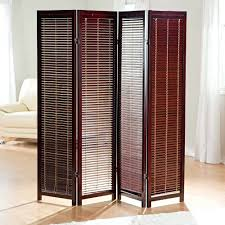 Room Dividers For Kids - art room dividers tranquility shutter screen wooden rosewood