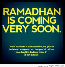 coming soon ramadhan islamic quotes hadiths duas prophet