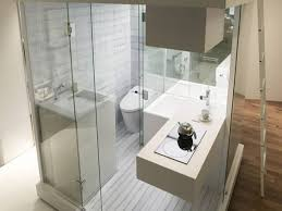 compact bathroom design ideas sleek narrow bathroom design with brilliant shower cubicle and
