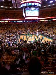td garden floor plan td garden section loge 18 row 19 seat 11 boston celtics vs