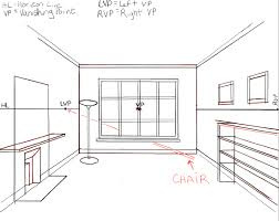 draw room how to draw the inside of a room with 3 point perspective techniques