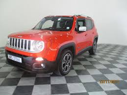 jeep red 2015 used jeep renegade 1 4 tjet limited for sale