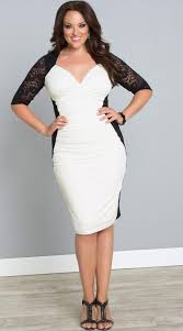 white party dresses plus size all white party dresses pluslook eu collection