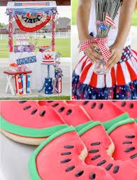 4th Of July Decoration Ideas Kara U0027s Party Ideas Glorious 4th Of July Party Ideas Decor