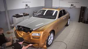 roll royce fenice rolls royce ghost gold youtube