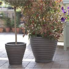 buy stylish outdoor large plastic patio planters