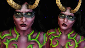 Youtube Halloween Makeup by Illidan Stormrage Lady Halloween Makeup Tutorial World Of