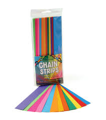 color paper mighty bright paper chain strips 1