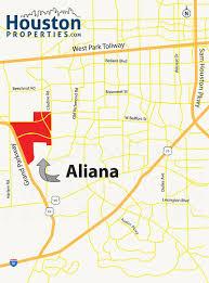 Lexington Zip Code Map Aliana Houston Neighborhood Guide Aliana Homes For Sale