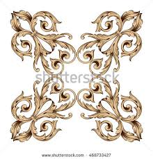 gold traditional islam arabic indian ornament stock vector