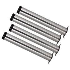 bqlzr silver 50 x 250mm cabinet metal legs adjustable stainless