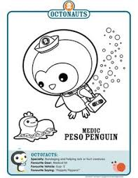lots octonauts printables coloring book octonauts