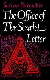 the office of the scarlet letter by sacvan bercovitch