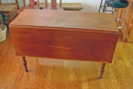 Cherry Drop Leaf Table Country Sheraton Cherry Drop Leaf Table