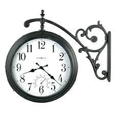 the 24 outdoor lighted atomic clock outdoor atomic wall clock the outdoor lighted atomic clock bronze