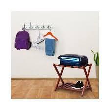 Panama Foldaway Luggage Rack Wood Luggage Racks For Bedrooms