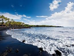 Black Sand Beaches by Top 10 Hawaiian Beaches Beaches Big Island Black Sand And Hawaii