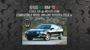how to replace toyota celica key fob battery 1995 1996 1997 youtube