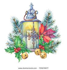 hand painted christmas card stock images royalty free images