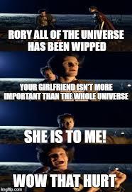 Rory Meme - doctor who punch meme imgflip