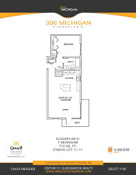 floorplans 300 michigan