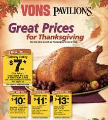 thanksgiving dinner vons divascuisine