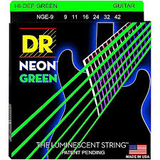 light electric guitar strings dr strings neon hi def green superstrings light electric guitar