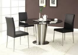 cool dining table bases modern round wood metal legs contemporary