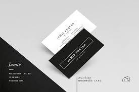 business card resume resume cv jamie resume templates creative market