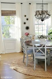 beachy dining room tables trends including coastal table set