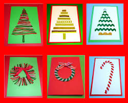 6 easy fun homemade christmas cards from learning ideas grades