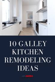 what is the best lighting for a galley kitchen 10 galley kitchen remodeling ideas nebs