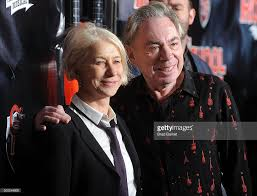actor helen mirren and andrew lloyd webber attend the of rock picture id500249600