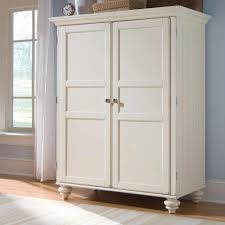 Good Quality White Bedroom Furniture White Armoire Morgan Cheap Armoire Desk In Cream White For The