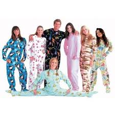 jumpin jammerz footie pajamas for adults pic