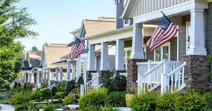 American House Flag The Best Suburbs In America