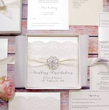 luxury wedding invitations opulence vintage lace luxury wedding invitation by made