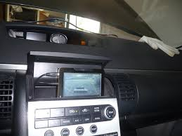 infiniti g35 interior install an aftermarket gps and backup camera on your infiniti g35 g37