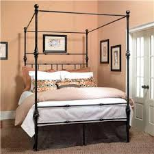 Iron Canopy Bed Frame Old Biscayne Designs Custom Design Iron And Metal Beds Bethany