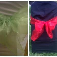 Chair Tie Backs Décor All In One Events