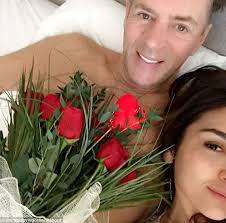 duncan bannatyne celebrates valentine u0027s day with selfies in bed