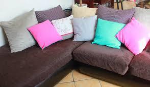 canapé avec gros coussins gros coussins de canapé fashion designs